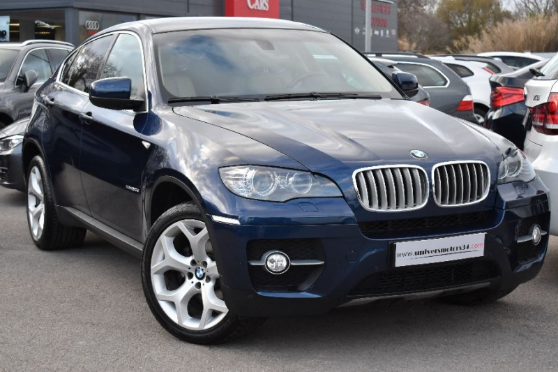 bmw x6 e71 xdrive30da 245ch luxe d occasion vendargues univers motors. Black Bedroom Furniture Sets. Home Design Ideas