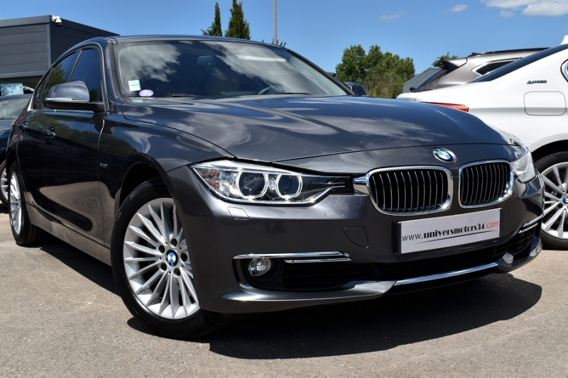 Bmw SERIE 3 (F30) 335IA XDRIVE 306CH LUXURY Essence ANTHRACITE Occasion à vendre