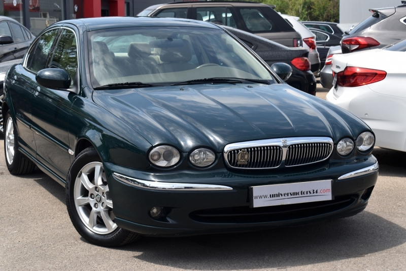 Jaguar X-TYPE 2.0 D EXECUTIVE Diesel VERT Occasion à vendre