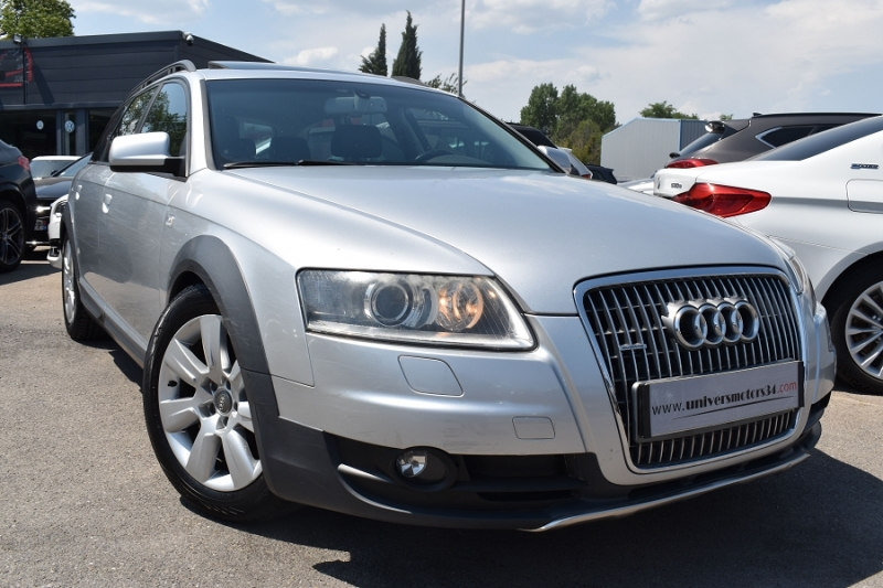 Audi A6 ALLROAD 3.0 V6 TDI 233CH AMBITION LUXE QUATTRO TIPTRONIC Diesel GRIS Occasion à vendre