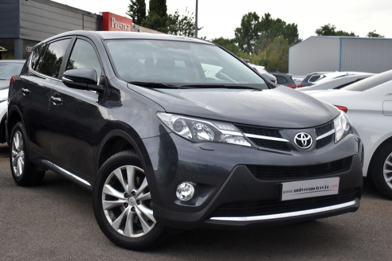 Toyota RAV4 124 D-4D LOUNGE 2WD Diesel ANTHRACITE Occasion à vendre