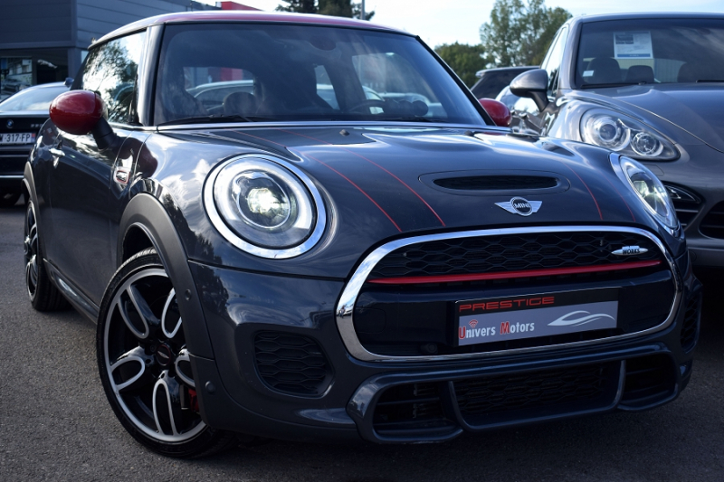 Mini MINI JOHN COOPER WORKS 231CH BVAS Essence ANTHRACITE Occasion à vendre