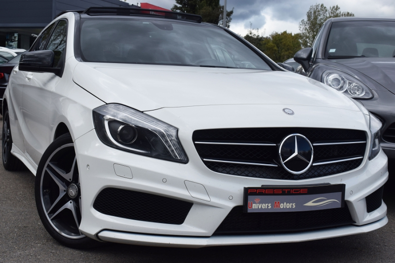 Mercedes-Benz CLASSE A (W176) 180 D FASCINATION  AMG Diesel BLANC Occasion à vendre