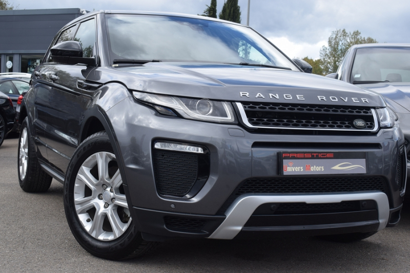Land-Rover EVOQUE 2.0 TD4 150 DYNAMIC BVA Diesel ANTHRACITE Occasion à vendre