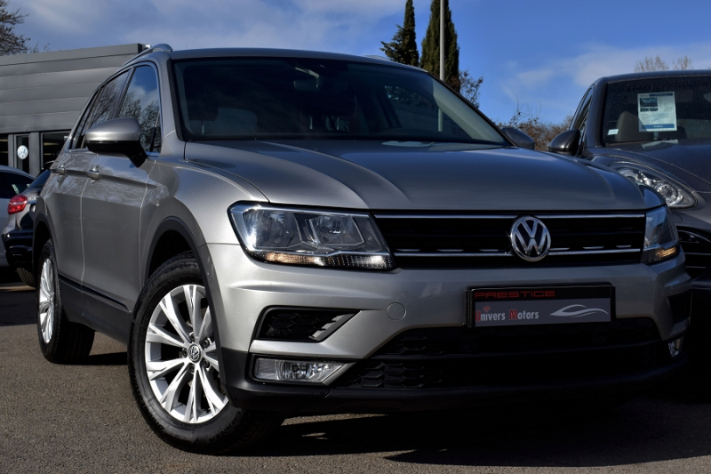 Volkswagen TIGUAN 2.0 TDI 115CH BLUEMOTION TECHNOLOGY CONFORTLINE BUSINESS Diesel ANTHRACITE Occasion à vendre