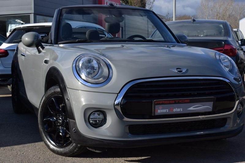Mini CABRIO COOPER 136CH BVA Essence MOONWALK GREY Occasion à vendre