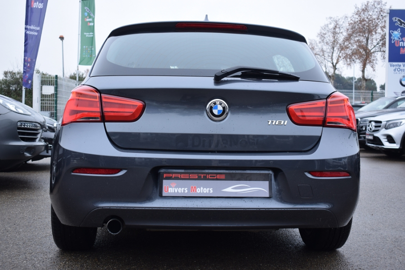 Bmw SERIE 1 (F21/F20) 118I 136CH BUSINESS 5P Essence GRIS FONCE Occasion à vendre
