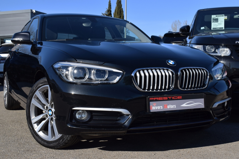 Bmw SERIE 1 (F21/F20) 116D 116CH EFFICIENTDYNAMICS EDITION URBANLIFE 5P Diesel NOIR Occasion à vendre